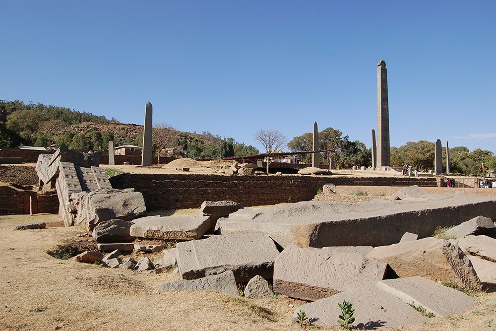 Axum & Gondar World Heritage SitesEthiopia