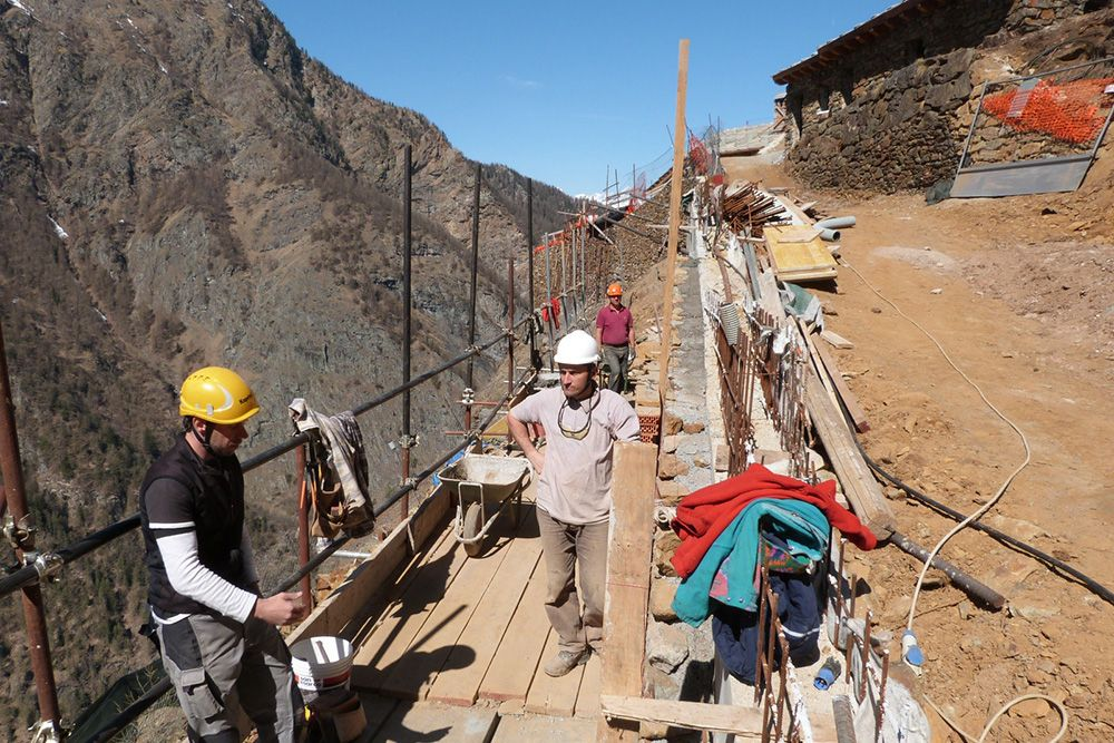 Riqualificazione del sito minerario di ServetteSaint-Marcel, Valle D'Aosta | Italia