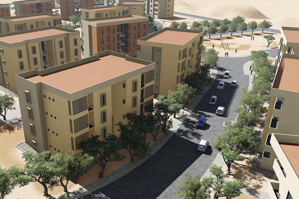 Progetto 1.000 appartamentiGibuti
