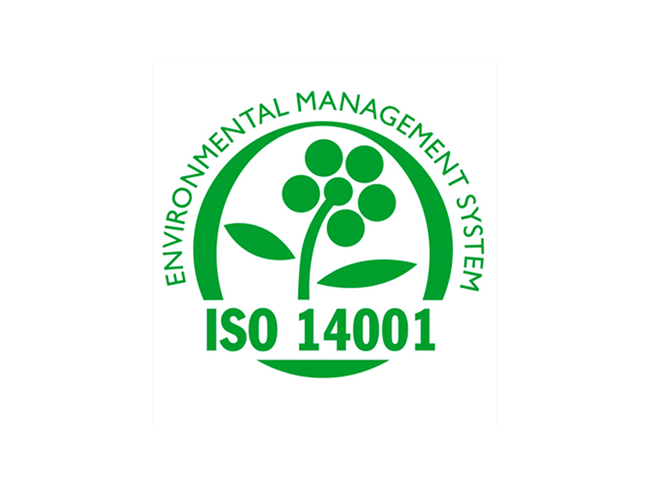 New certification ISO 14001